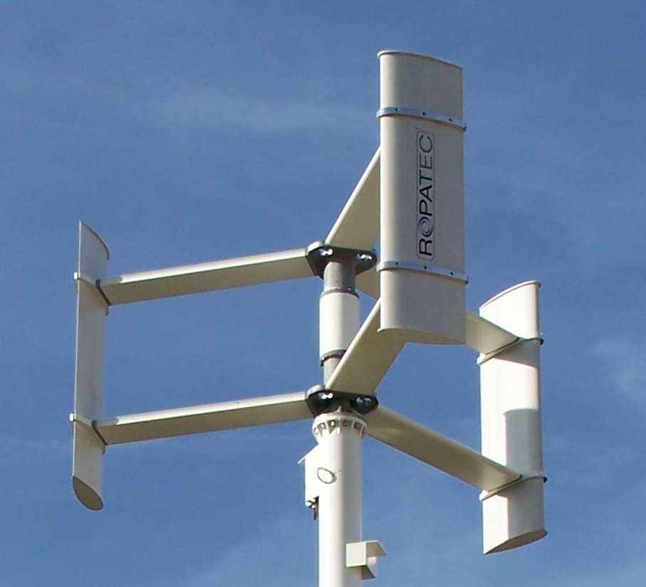 Solutions de confort thermique eolien idesko - Mini eolienne verticale ...